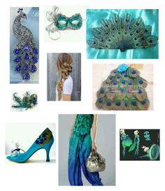 """""""Miraculous Peacock"""" by adeline-jackson on Polyvore"""