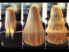 4 Einfache Hausmittel für dickeres Haar! - YouTube