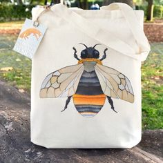 Bumble #bees flying off to new homes today! This #totebag has been a firm favourite this month! Ceridwen Hazelchild Design