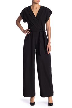 5e908b34ee0a20 Solutions - Belted Culotte Jumpsuit is now 49% off. Free Shipping on orders  over