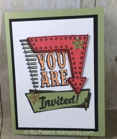 Marquee Messages, Stampin' Up!, BJ Peters, New catalog, #stampinbj, #bjpeters
