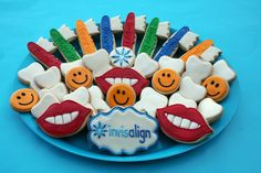 tooth dentist cookie- mom take note for my dental school acceptance party in a couple years :)