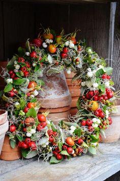Couronne d'automne - fruit et baies