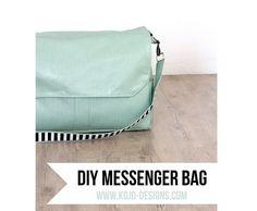 Tutorial: Make yourself a gorgeous messenger bag