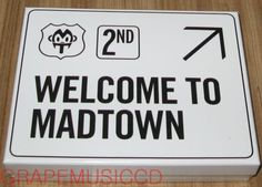Madtown-Welcome-to-MADTOWN-2nd-Mini-Album-K-POP-CD-POSTER-IN-TUBE-CASE-NEW