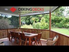 Decks, Timber Patios, Patio Roofing, Pergolas Brisbane and the Gold Coast by DeKing Decks