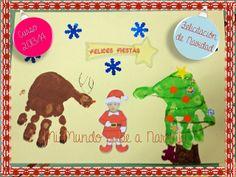 Mi Mundo sabe a Naranja: Un árbol, un reno y un Papá Noel de lo más particular