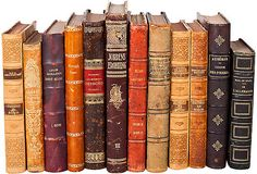 Old books for display? Could we recycle covers or pages for decorative elements or display?