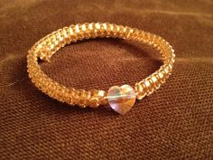 HEART OF GOLD Helloberry Inspired Bracelet by eycollection on Etsy, $15.00