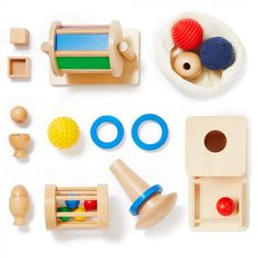 The Montessori materials in Level 3 supports your child's developing mobility while they build cognitive skills. Infant Toddler Classroom, Toddler Preschool, Toddler Toys, Baby Toys, Montessori Materials, Montessori Toys, Object Permanence, Curriculum Design