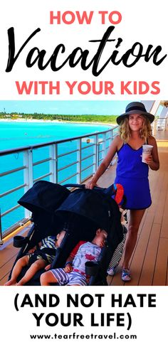 Planning a family vacation? Are you wanting to take a trip with kids but are worried about whether it will be more of a 'trip'? I've managed to vacation with my toddler and vacation with my baby and NOT hate my life doing it. Here I share my best family vacation tips: choosing the right family vacation destination, trip ideas that kids won't hate, and all of the ways I plan to actually enjoy a vacation with kids. Pin this for your next trip! #familyvacation #vacation #vacationtips #toddler…