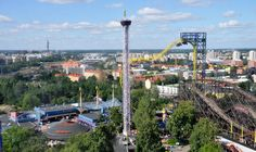 Linnanmaki Amusement Park Visit Helsinki, Interesting History, Beautiful Buildings, Amusement Park, Capital City, Cn Tower, Finland, Summer Time, Travel