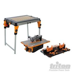 Triton router table module for use with workcentre triton router triton 830200 twx7 workcentre router table contractor saw moduleiple workshop pack featuring a greentooth Image collections