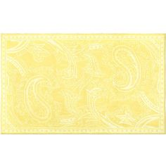 Giant  Yellow Paisley Rug-Rugs, interior decor, rug mats, mats, floor mats, floor rugs, room decorations, foot rug, monogrammed rugs, personalized rugs, custom rugs, custom mats, custom floor mats, custom monogrammed rugs, custom floor rugs, custom floor rugs, children's room decor, child room decor, adult room decor, adult decor