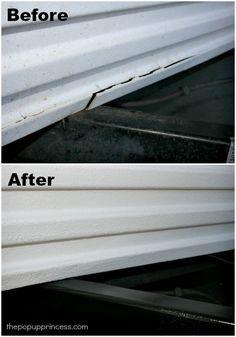 Repairing ABS Camper Body Panels