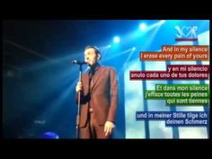 """Marco Mengoni X Eurovision Song Contest - video """"L'essenziale"""" with the subtitles in English, Spanish, French and German"""