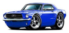 Cool Muscle Car Drawings | Clothing, Shoes & Accessories > Unisex Clothing, Shoes & Accs > Unisex ...