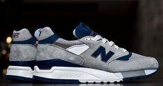 New Balance 998 Made in USA Grey/Navy