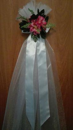 Dekoracja drzwi domu na ślub 🙂