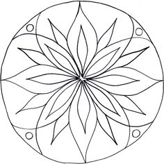 Resultado de imagem para simple mandala designs to print Mandala Art, Mandala Drawing, Mandala Pattern, Mandala Coloring Pages, Colouring Pages, Coloring Books, Stained Glass Patterns, Mosaic Patterns, Art Cd