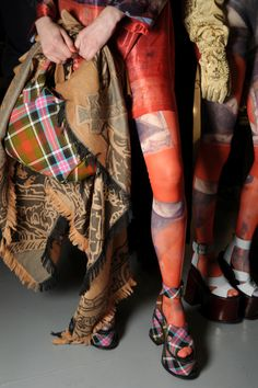 Vivienne Westwood Gold Label AW12/13 - Paying homage to the flag
