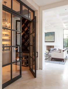 Caruth Project - transitional - wine cellar - dallas - Stocker Hoesterey Montenegro Architects