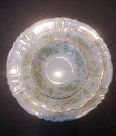 Bowls & Plates Feeding Antique Bowl Bavaria R C W Babes Playing Ceramic Bowl Rare Fashionable Patterns