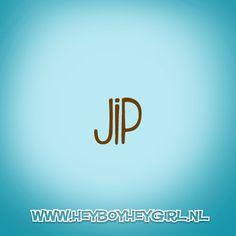Jip (Voor meer inspiratie, en unieke geboortekaartjes kijk op www.heyboyheygirl.nl)