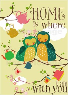 home is Poster von Elisandra