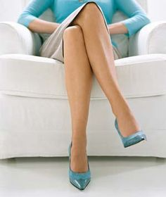 Beauty Myths Debunked  Myth 1: Sitting & crossing legs won't cause varicose or spider veins; standing may.Pronounced veins often crop up on ppl who either have a genetic predisposition to them or have jobs that require them to stand a lot.Standing makes the vascular network work extra hard to pump blood from the legs up to the heart. If the valves, which keep blood flowing in 1 direction within ur vessels, aren't functioning properly, a pooling of blood can occur & result in unsightly veins.