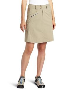 Royal Robbins Women's Discovery Traveler Skirt by Royal Robbins. $50.13. Natural fit. Lightweight/ Wrinkle resistant. Features Discovery Stretch Nylon. UPF 50+ Sun protection. Back zip entry. Flouncy and fantastic, the Royal robbins Discovery Traveler Skirt is a sound choice for spring break, summer vacation or whatever fun-in-the-sun adventure you have in mind. It's made from Discovery Stretch Nylon, a quick-dry, lightweight blend of nylon and Spandex that'll stay ...