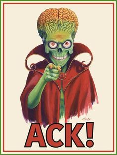 Mars Attacks Poster