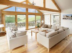 Hause Hall Farm, Martindale, Cumbria, Anglie, Velká Británie