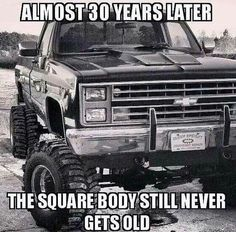 Even though it's a chevy lol