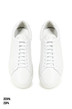 Looking for Common projects alternatives? I have got the best men's white sneaker covering every price. Check out my review of Zespa ZSP4. #commonprojects #shoes