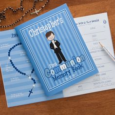 11251 - I'm The Communion Boy Personalized Memory Book
