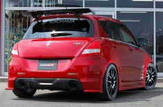 ADVAN / GALLERY / ADVAN MATCHING GALLERY / SUZUKI SWIFT Sport [ZC32S] 2012y / SunLine Racing [SHOP DEMO-CAR]
