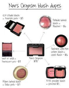 6 Nars Orgasm Blush Dupes - Summer Make-Up Eye Makeup, Kiss Makeup, Makeup Brushes, Beauty Makeup, Makeup Geek, Makeup Eraser, Makeup List, Chanel Makeup, Blush Makeup