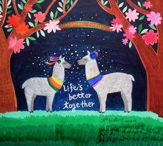 life's better together (llama)