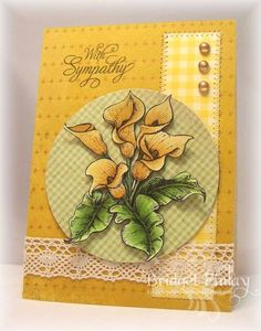 SC400 Golden Lillies by bfinlay - Cards and Paper Crafts at Splitcoaststampers