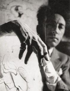 Jean Cocteau, Photo by André Papillon, 1939