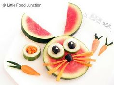 Детские десерты с арбузом