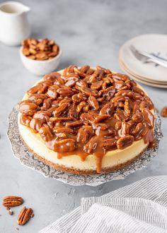 Pecan Pie Cheesecake | Gimme Delicious Pumpkin Pie Cheesecake, Cheesecake Fat Bombs, Keto Cheesecake, Garlic Chicken Pasta, Chicken Tacos, Chicken Rice, Fried Chicken, Popeyes Chicken, Chicken Taquitos