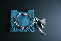 Mimmi likes: Astrid dress duck blue