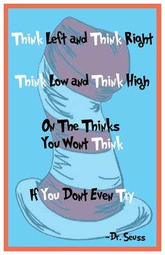 Dr Seuss Decor Quote Typography Suess Print by ThePickleShop, $15.00