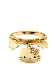 Hello Kitty Charm Ring on HauteLook