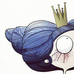 Garabating — lapendeja: Princesas #illustration #ilustración...