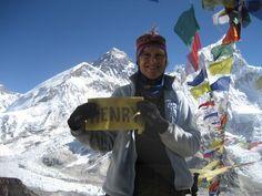 Henry on Mt Everest