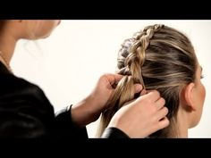 How to Do a Reverse French Braid Inside Out French Braid, Inside Out Braid, Reverse French Braids, Reverse Braid, Girl Hairstyles, Braided Hairstyles, Round Hair Brush, Hair Dos, Hair Hacks