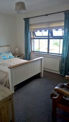 One of the double bedrooms at Cuckoo Tree House